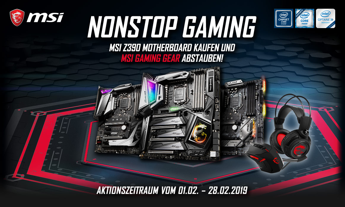 MSI - Nonstop Gaming!