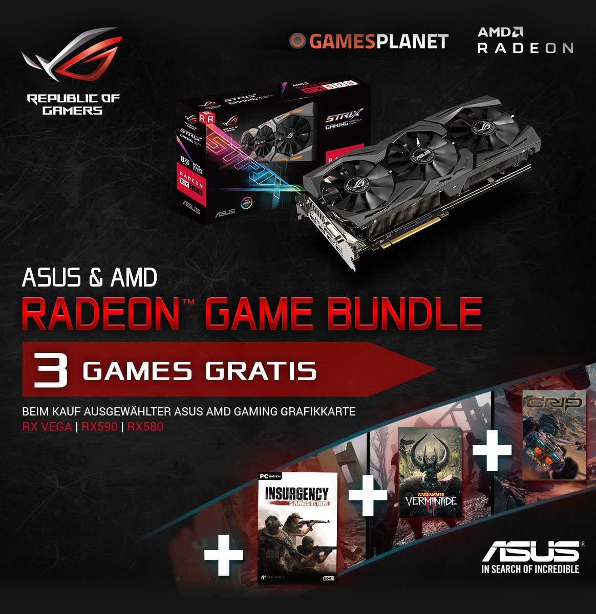 Radeon Game Bundle