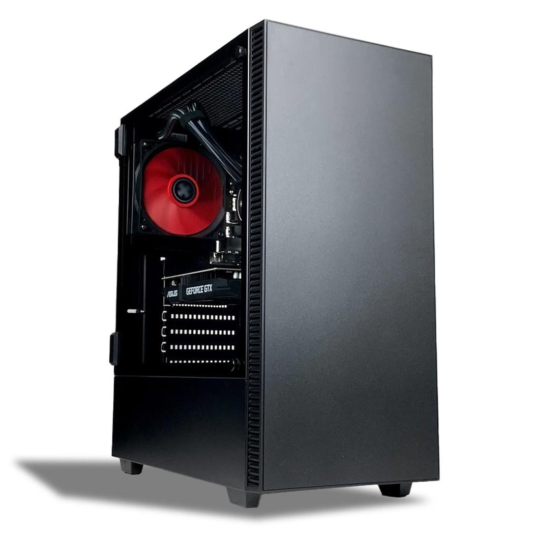 AMD-Aufruest-PC-Sempron-2-8-GHz-4GB-DDR3-GeForce-Grafik-Glanzgehaeuse