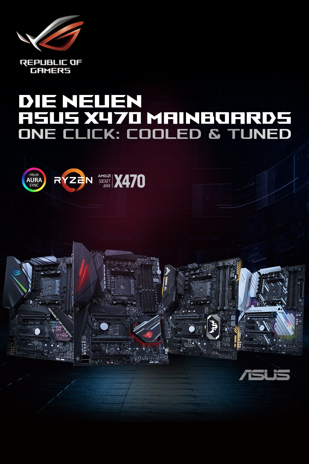 ASUS-X470-Mainboards