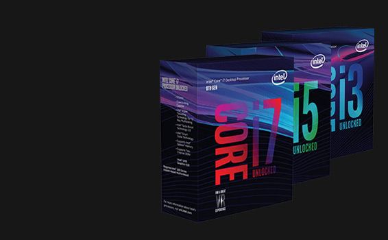 Intel Coffee Lake Prozessoren der neuesten Generation