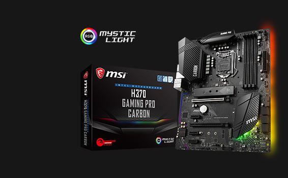 MSI und ASUS Gaming Series Motherboards